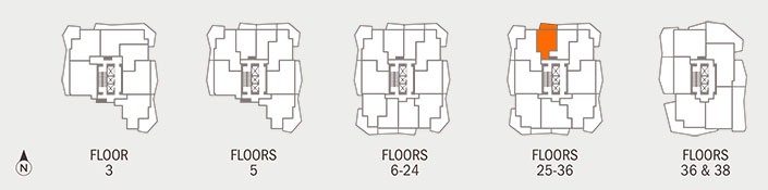 Floorplan B Key