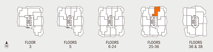 Floorplan C Key