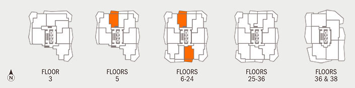 Floorplan D Key
