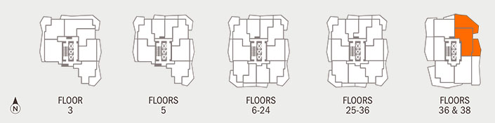 Floorplan FRASER Key
