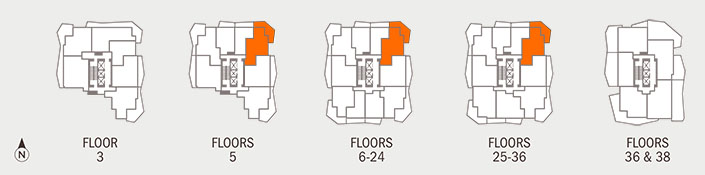 Floorplan G Key
