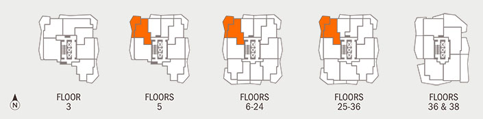 Floorplan H Key