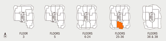 Floorplan I Key