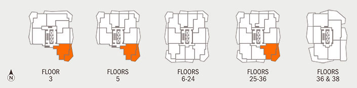 Floorplan K Key