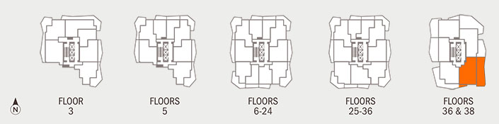 Floorplan PANORAMA Key